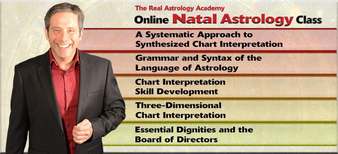 Register for a FREE CLASS in Natal Chart Interpretation